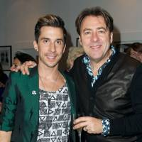 Russell Kane and Jonathan Ross