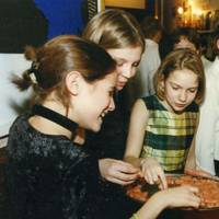 Isabelle Ogden, Celia Harvey and Camilla Horsfield
