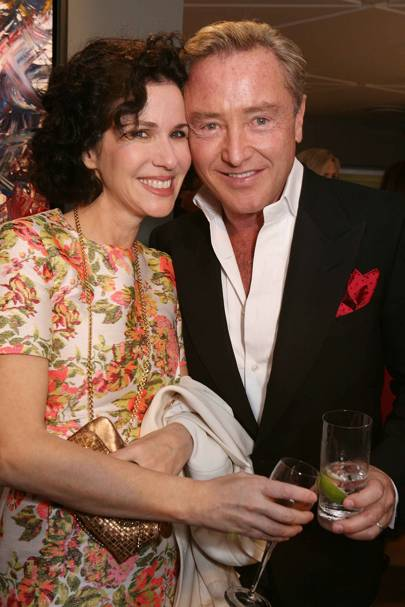 Mollie Dent-Brocklehurst and Michael Flatley