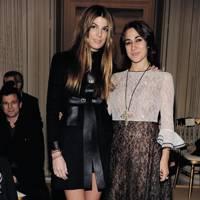 Bianca Brandolini d' Adda and Delfina Delettrez