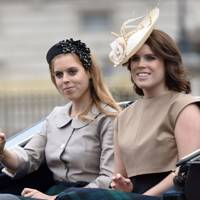 With Princess Beatrice at Royal Ascot, 2015
