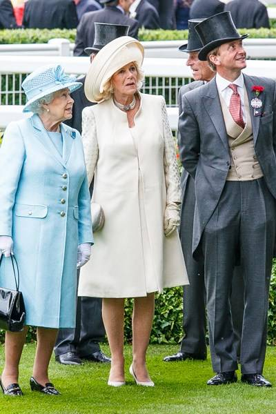 The Queen, The Duchess of Cornwall and The Duke of Edinburgh