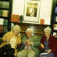 Joy Parker, Richard Adams and Mrs Richard Adams