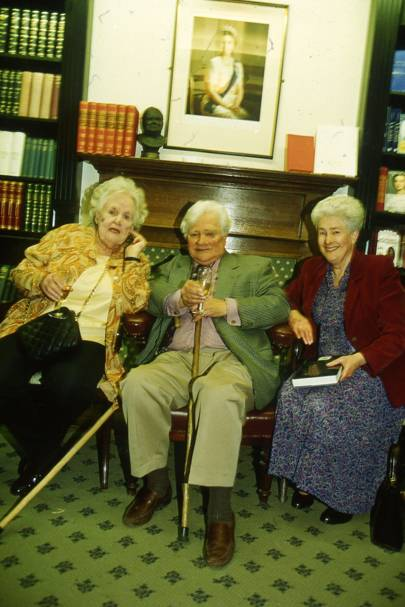 Joy Parker, Richard Adams and Mrs Richard Adams