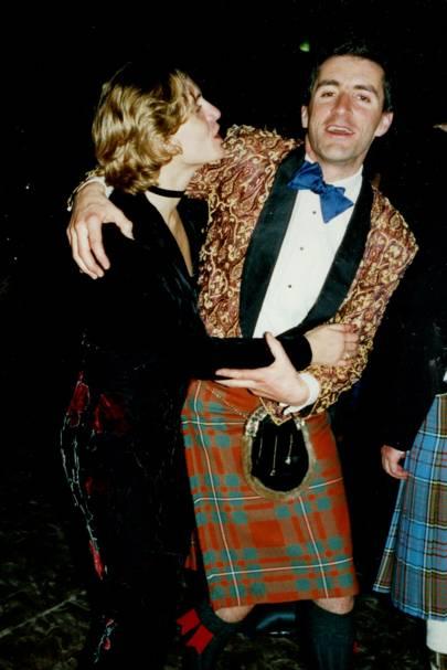 Joanna Hebeler and Peter Michael