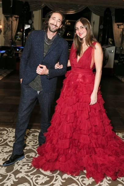 Adrien Brody and Sabine Heller