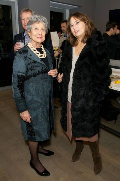 Joan Burstein and Alexandra Shulman