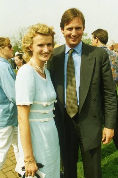Mrs Edmund Mahony and Edmund Mahony