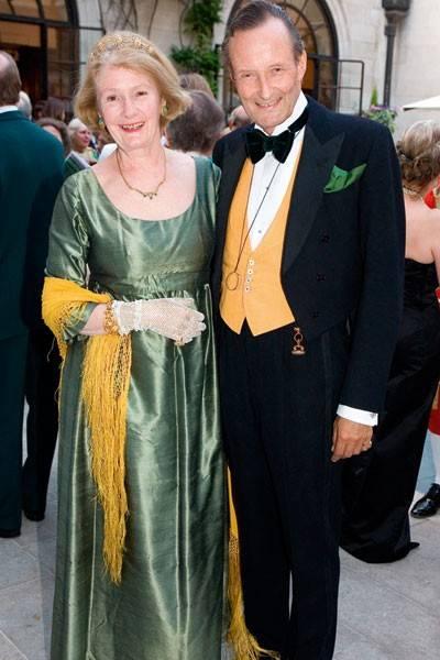Mrs William Clarke and William Clarke