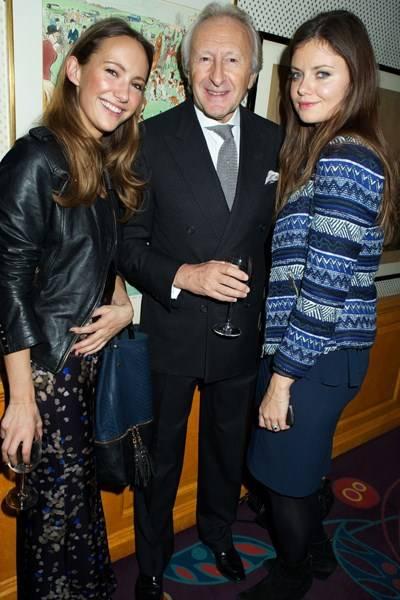 Lavinia Brennan, Sir Harold Tillman and Lady Natasha Rufus Isaacs