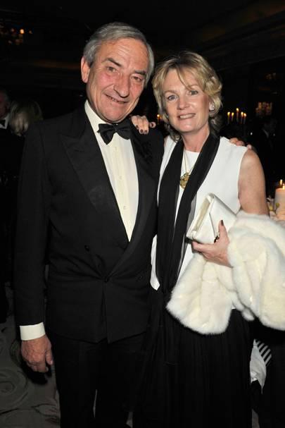 Luca Cumani and Lady Lloyd Webber
