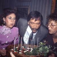 Mrs David Spanier, Roberto Devorik and Brenda Polan