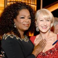 Oprah Winfrey and Dame Helen Mirren