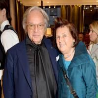 Diego Della Valle and Suzy Menkes