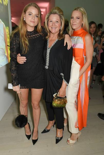 Bea Fresson, Serena Fresson and Alice Naylor-Leyland