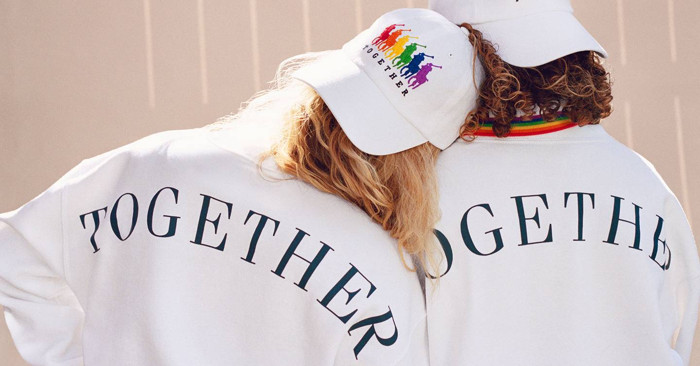 You're going to want Ralph Lauren's Pride collection