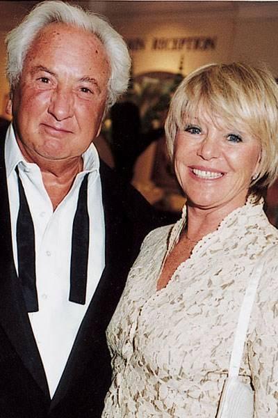 Michael Winner and Geraldine Lynton-Edwards