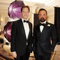 Nick Clegg and Evgeny Lebedev
