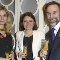 Sofia Wellesley, Jane Wareing and Marcus Wareing