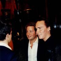 Leo Fenwick, George Bamford and Johnny Weinberg