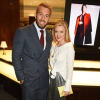 Chris Robshaw and Camilla Kerslake