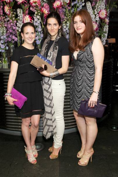 Charlotte Colquhoun, Clemmie Raynsford and Georgina Colquhoun