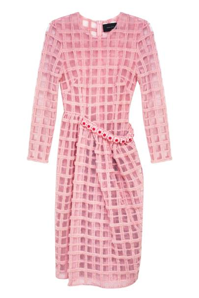 Wool & nylon dress, £1,175, by Simone Rocha