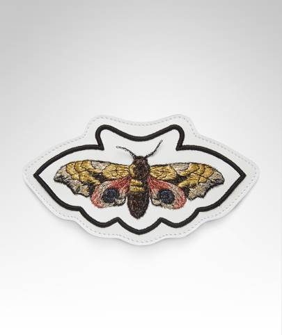 Gucci butterfly patch