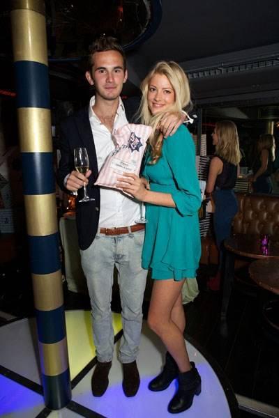 Johnny Conran and Charlotte Baer