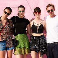 Charlotte Wiggins, Matilda Lowther, Sam Rolinson and Jamie Campbell Bower