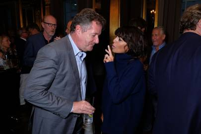 Piers Morgan and Claudia Winkleman