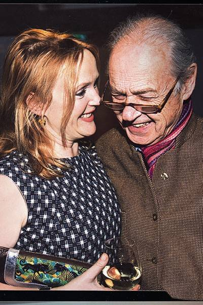 Miranda Richardson and John Standing