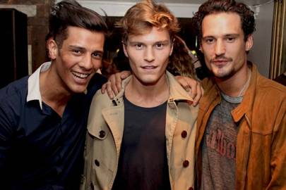 Waz Ashayer, Oliver Cheshire and Sam Webb