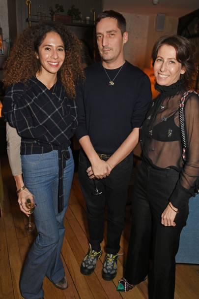 Candice Fragis, Serge Ruffieux and Sophie de Rougemont