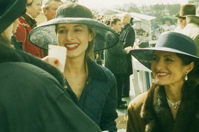 Alexandra Joly and Mrs Patrick Martell