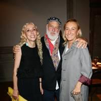 Franca Sozzani, Bruce Weber and Miuccia Prada