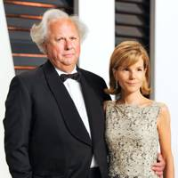 Graydon Carter and Anna Scott