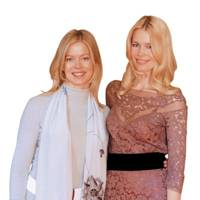 Lady Helen Taylor and Claudia Schiffer