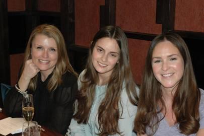 Jane White, Annabelle Spranklen and Katherine Pitcher