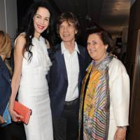 Mick Jagger, Suzy Menkes and L'Wren Scott