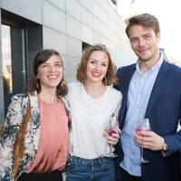 Rachael Castell, Rachel King and Chris Anastasi