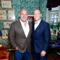 Mike Flatman and Mike Tindall