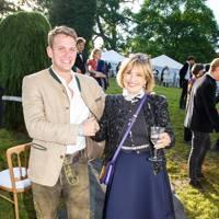 Moritz Flick and Countess Maya Von Schonburg