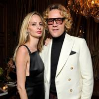 Lauren Santo Domingo and Peter Dundas