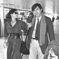 Lucy Ferry and Bryan Ferry