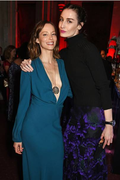 Sienna Guillory and Erin O'Connor