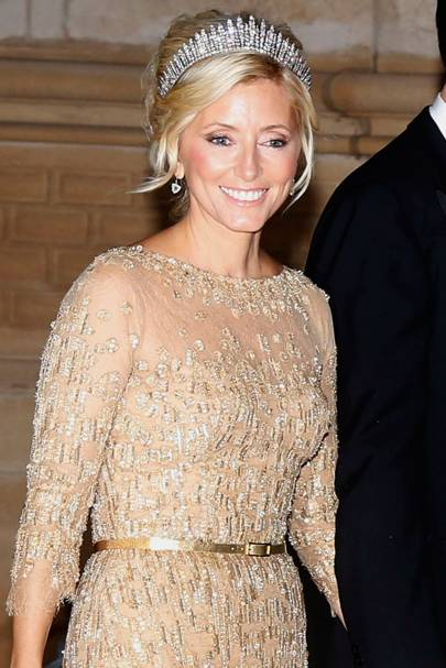 Crown Princess Marie-Chantal of Greece and Denmark
