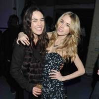 Tallulah Harlech and Mary Charteris