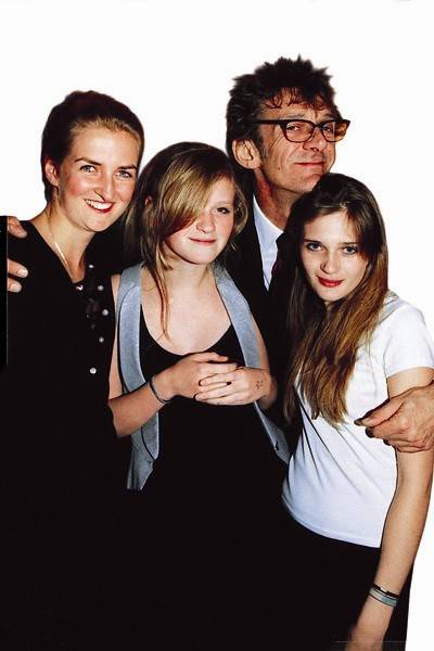 Francesca Somerset, Romy Somerset, Matthew Carr and Ella Carr