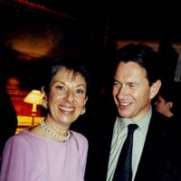 Mrs Graham Franklin and Michael Portillo